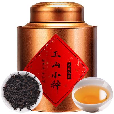 花果香型正山小种红茶正宗武夷山高山野茶叶浓香型铁罐装250g