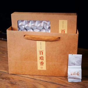 武夷岩茶——百瑞香  岩韵明显珍贵品种!经过两道碳火烘焙后更加浓郁醇厚