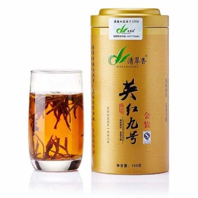 清翠香英德红茶英红九号清香型春茶散茶红茶新款罐装一级茶叶150g
