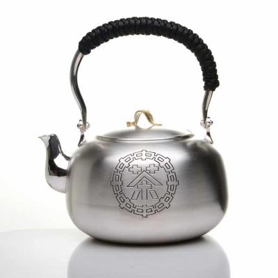 韩国银壶 煮水壶