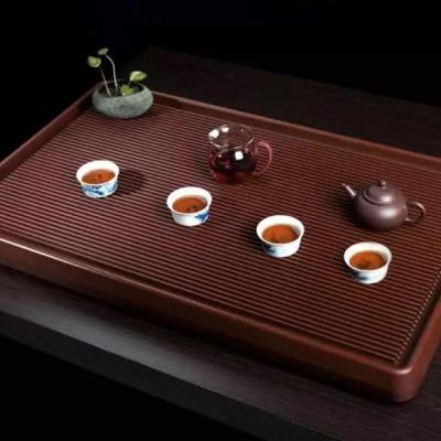 央木堂台湾精品电木胶木茶盘5080斜边定制功夫排水式茶海厂家直销