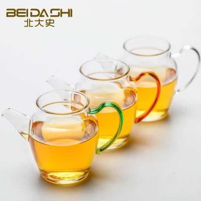 北大史公道杯茶公杯玻璃公道杯分茶器日本加厚家用耐热长嘴分茶器