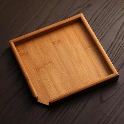 普洱分茶盘 茶盘 竹 茶饼 分茶器实木 存赏 盒 开茶 功夫茶具配件