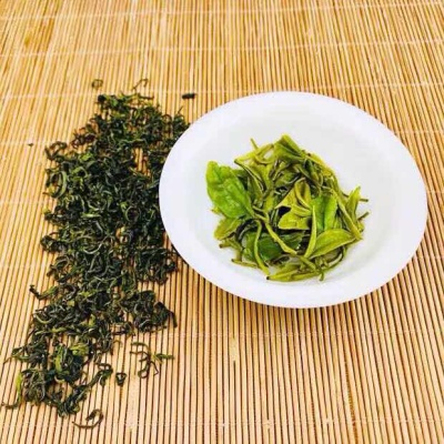 绿茶 崂山绿茶 春茶崂山茶 特级 500g散装炒青茶清香型