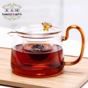 北大史玻璃煮茶壶耐热泡茶壶小青柑桔普茶家用带把电陶炉煮茶具器