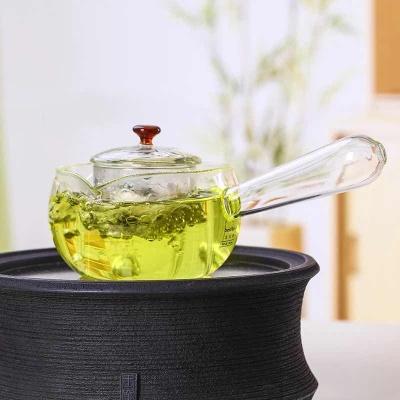 北大史侧把煮茶壶加厚耐热玻璃茶壶小号过滤泡茶壶功夫茶具煮茶器
