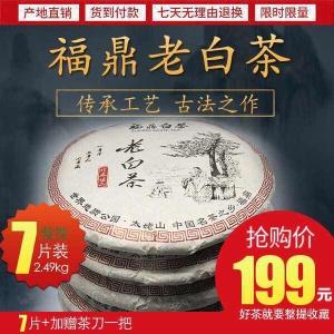 2009陈年正宗福鼎白茶超值抢购