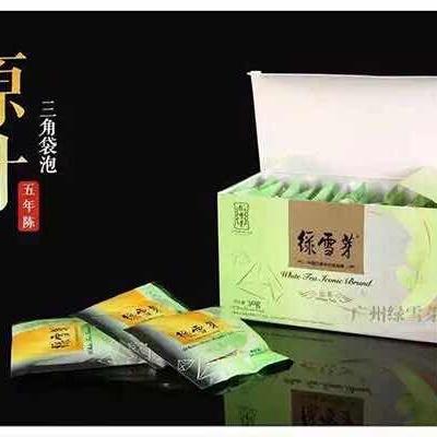 绿雪芽三角包白茶【品名】三角包白茶【规格】30g/盒