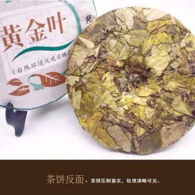 2017年福鼎白茶黄金叶