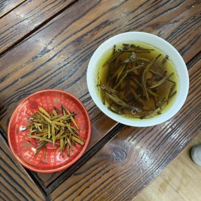 大金针,古树红茶
