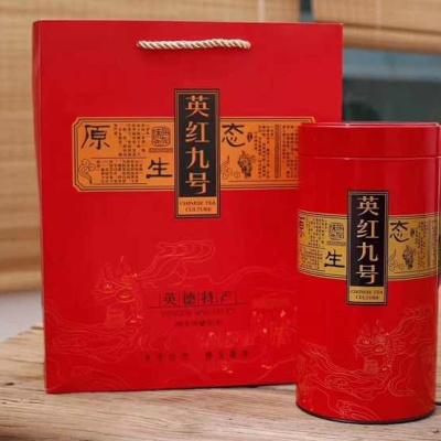 新品【英红九号】,一杯红茶英红九号伴着你,外形秀丽、色泽金黄,汤色红艳