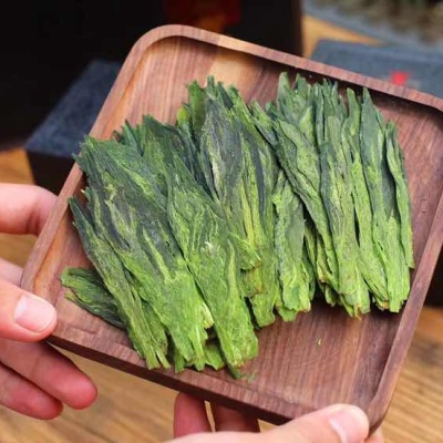 2019新茶:(双枝)太平猴魁的色、香、味、形皆独具一格: