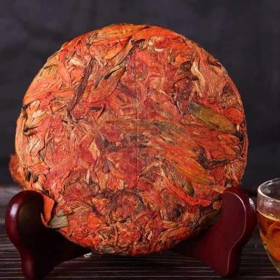 云南特产花茶饼组合花草茶普洱熟茶红茶生茶饼200g口味可选