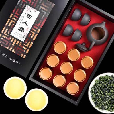 特级小罐正宗金骏眉茶叶礼盒装9罐150g 清香型礼盒装赠茶具 送礼佳品
