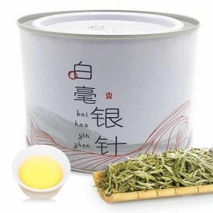 福鼎白茶白毫银针散茶2018头采日晒茶叶福鼎高山白茶