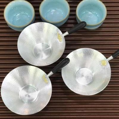 首丽堂纯银茶漏(纯银度9999)