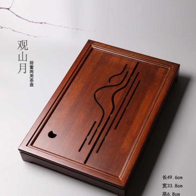 祥福山水茶盘