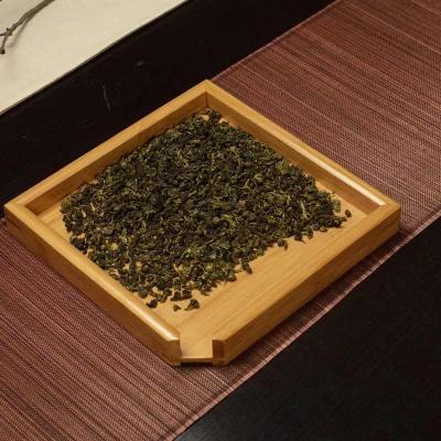 竹方形普洱盘