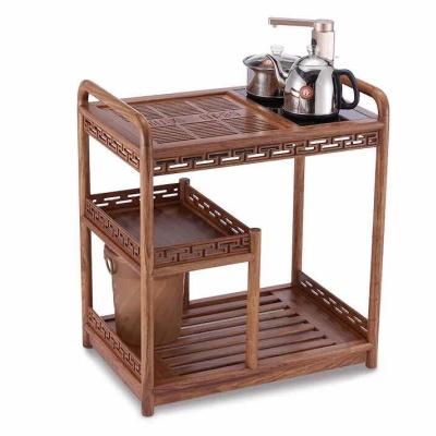汉唐实木茶水车(黑檀木2040/花梨木1908)不带电器