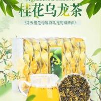 桂花冻顶乌龙!茶的故事 花的香气 开启舌尖上的美味之旅采用高山冻顶乌龙