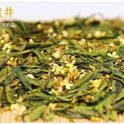 西湖(桂花龙井)产于浙江省杭州西湖区域的龙井茶区而得名