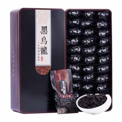 【买1送1】黑乌龙茶 高浓度油切茶叶木炭技法乌龙茶共500g