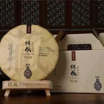 传成老树白茶9118 一级白牡丹福鼎白茶