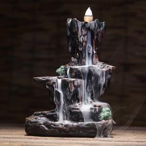 高山流水倒流香香炉