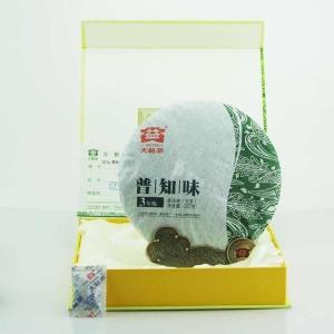 大益普洱茶普知味生茶2015年357g