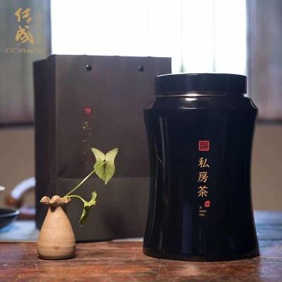 传成老树白茶 2010年一级寿眉私房茶口粮茶 散茶叶罐装 300g