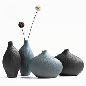 陶瓷干花小花瓶