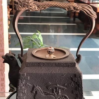 手工老铁壶