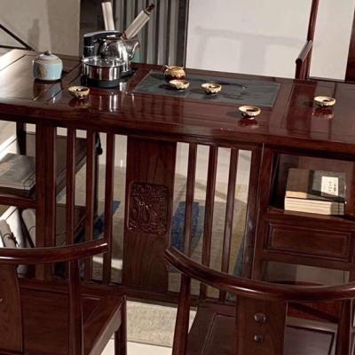 实木新中式茶桌
