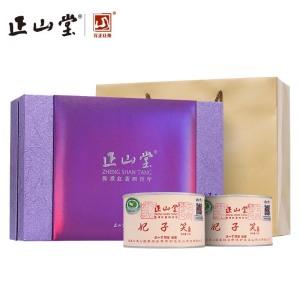 正山堂茶业2019新茶简约风尚妃子笑正山小种红茶特级茶叶礼盒100g