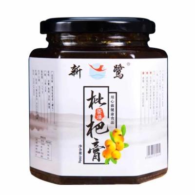 新鹭蜜炼枇杷膏蜂蜜手工制作儿童可食用无川贝饮品500g,健康底糖饮品。