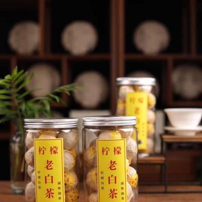 新鲜柠檬遇见老白茶老白茶可以退热祛寒、降火解毒!口感十分清香怡人
