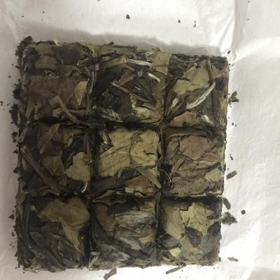 政和老树白茶2017寿眉,巧克力饼使用方便,可如图二企业订制 500g
