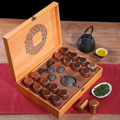 送礼品茶 铁观音茶叶 浓香型 茶叶礼盒装乌龙茶 买茶送茶具