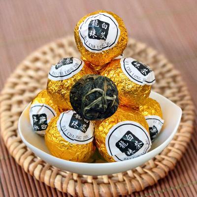 寿眉老白茶龙珠球福建陈年老白茶叶半斤/一斤罐装