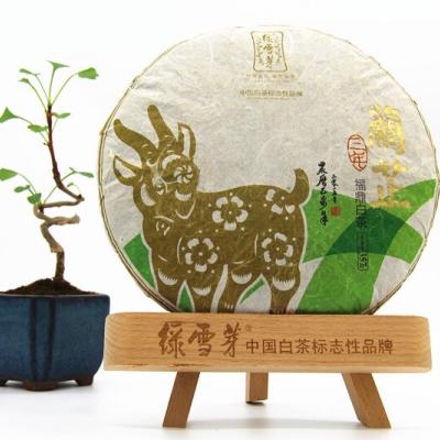 绿雪芽2015乙未年369-兰芷【规格】357g/饼 2012牡丹寿眉