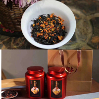 日月谭红茶+桂花、桂花红茶500g