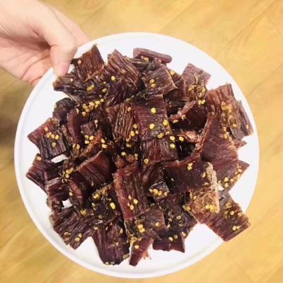 麻辣,五香味任选500克藏族特色牛肉干😍顺着纹理撕着吃 比较耐嚼