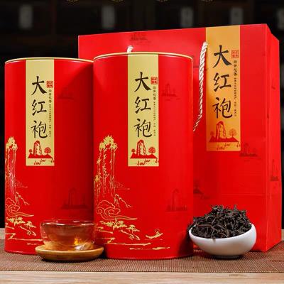 厂家直销  镇店大红袍茶叶500g武夷山大红袍散装肉桂