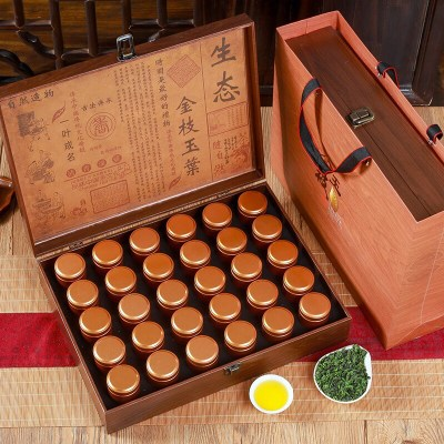 新茶铁观音小罐装茶500g正山小种500g金骏眉450g大红袍龙井30