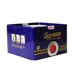天士力 帝泊洱 即溶普洱茶珍 熟茶 甘醇型宝蓝 铁罐装200袋蓝礼盒