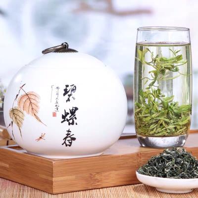 2019新茶 明前一级碧螺春绿茶125g 陶瓷罐装