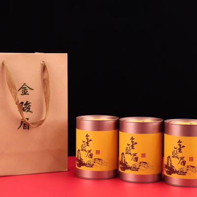 武夷山桐木关春芽蜜香金骏眉,只取一缕茶尖,精心挑选万颗炼寸斤。一斤3罐