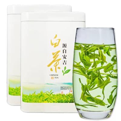 2019新茶 明前安吉高山白茶茶叶绿茶毛尖散装250克罐装