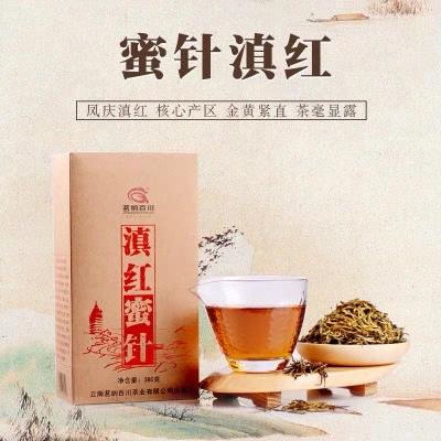 茗纳百川 滇红茶特级云南凤庆古树红茶茶叶散装 滇红蜜针380克