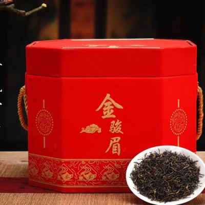 新茶金骏眉红茶茶叶礼盒装桶装浓香型过年过节送礼